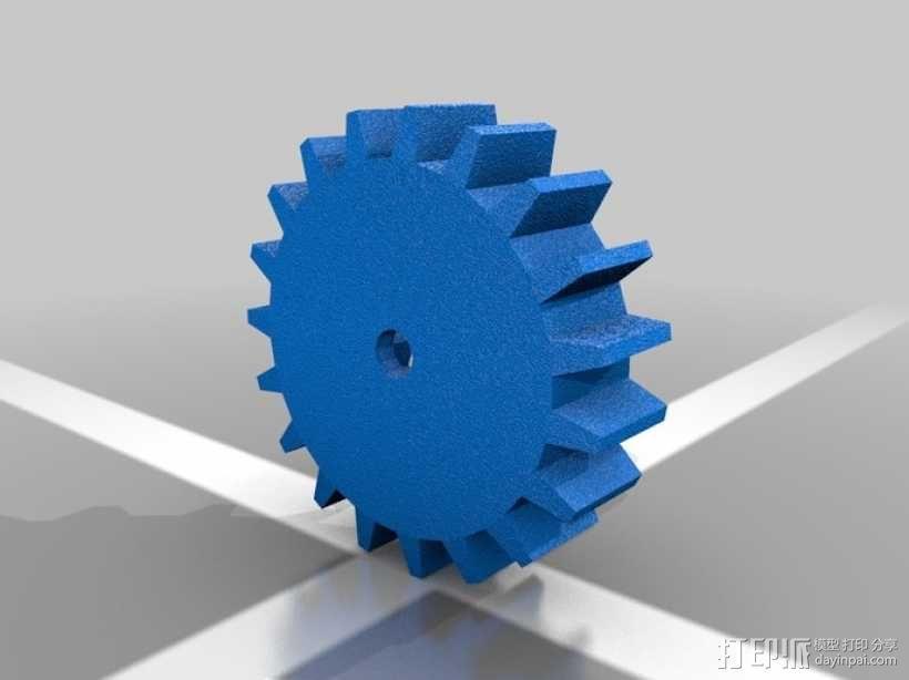 迷你机械臂 3D模型  图14