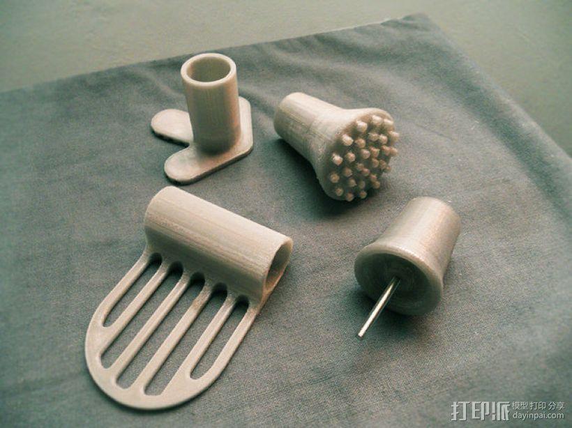 mino工具配件 3D模型  图6