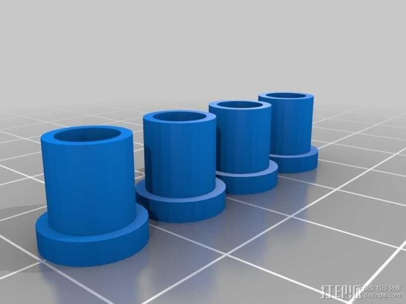 遥控飞机 3D模型  图2