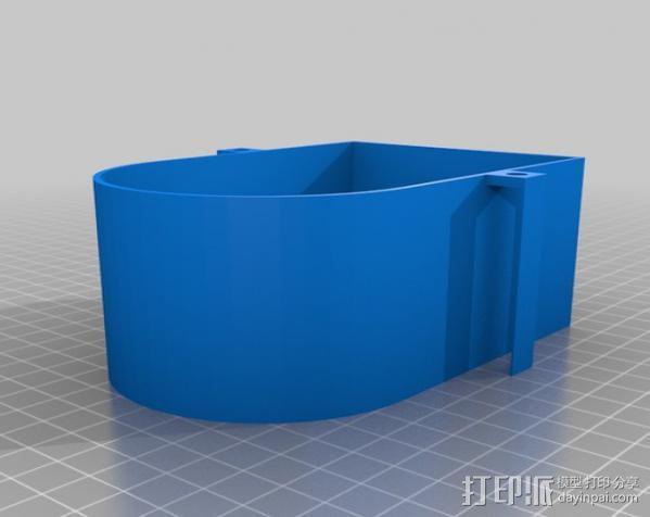 自由机械臂 3D模型  图1