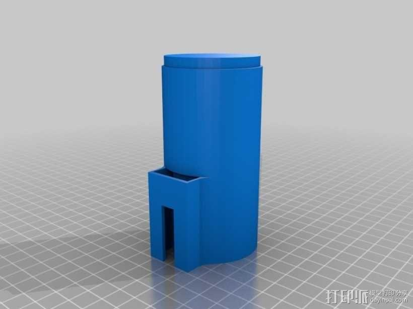 自由机械臂 3D模型  图4