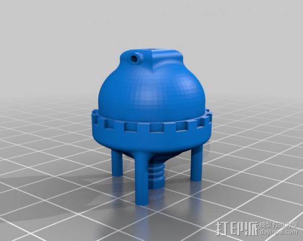 火箭发动机  模型 3D模型  图8