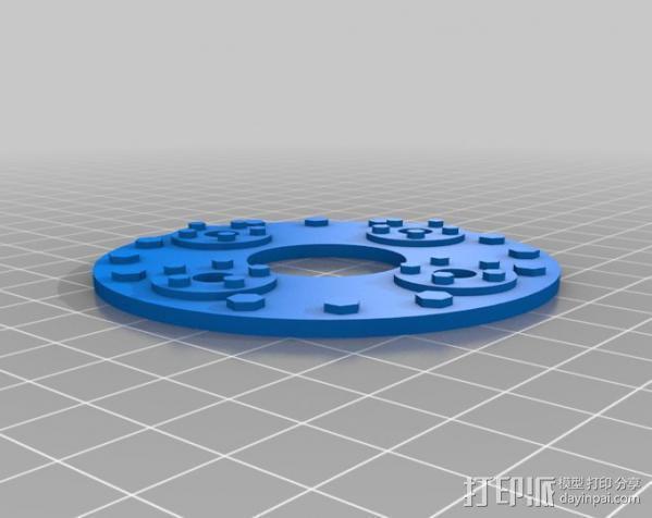 火箭发动机  模型 3D模型  图11