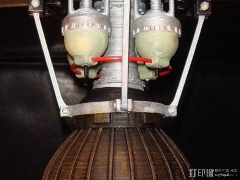 火箭发动机  模型 3D模型  图13