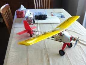 个性化遥控飞机 3D模型