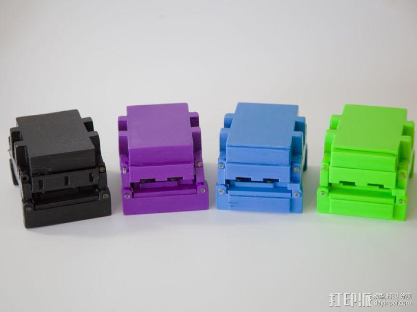 可折叠Arduino电路板外壳 3D模型  图4