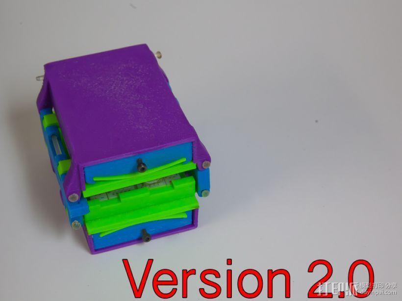 可折叠Arduino电路板外壳 3D模型  图7