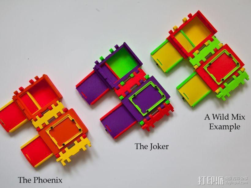 可折叠Arduino电路板外壳 3D模型  图8