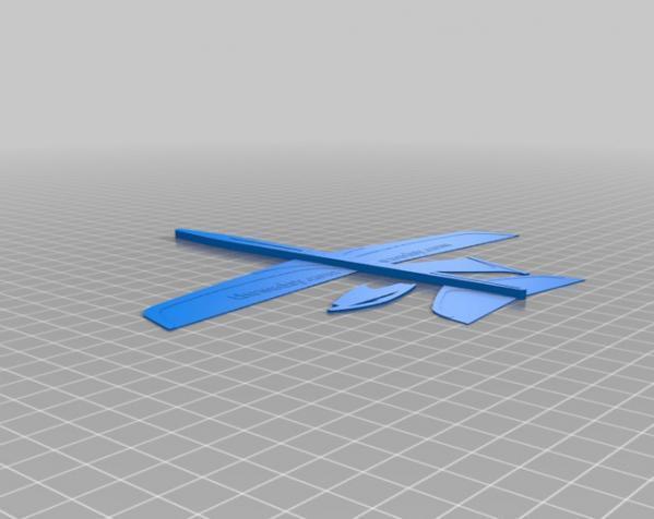 迷你滑翔机 3D模型  图2