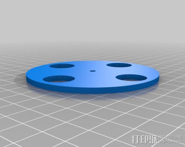 光学转速计  3D模型  图2