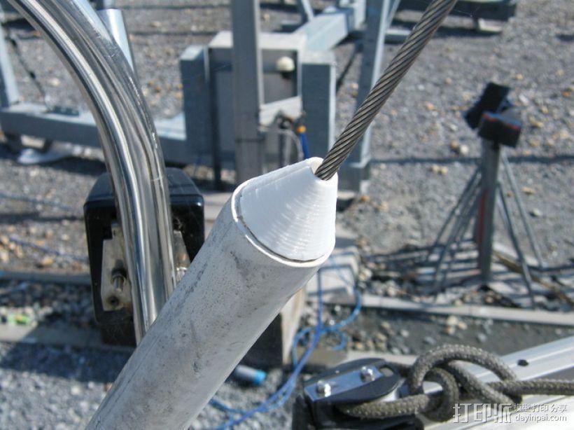 套筒螺母保护罩 3D模型  图6