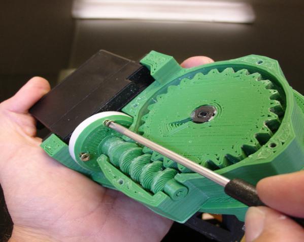 InMoov机械臂 3D模型  图10