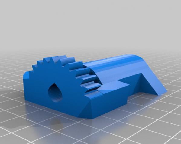 InMoov机械臂 3D模型  图22