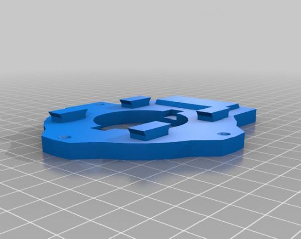 InMoov机械臂 3D模型  图25