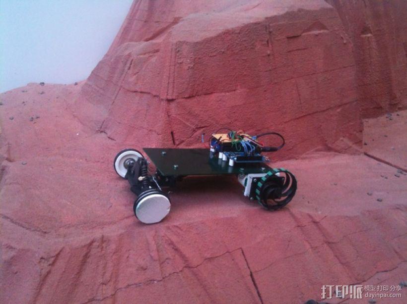 迷你遥控车 3D模型  图1