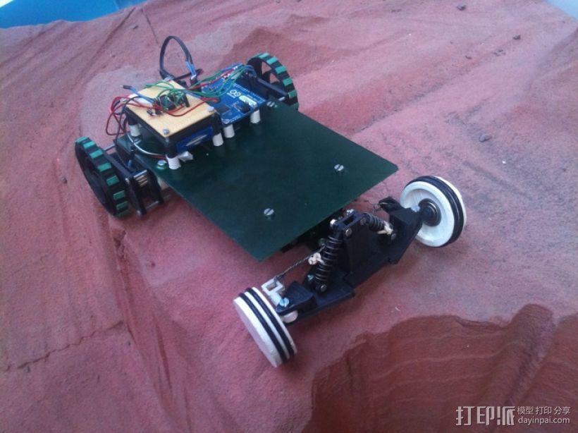 迷你遥控车 3D模型  图2