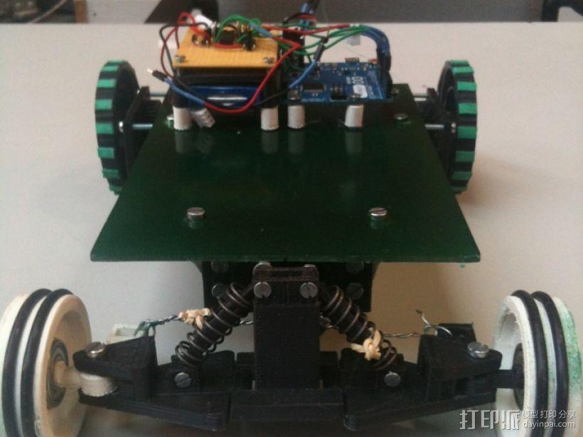 迷你遥控车 3D模型  图3