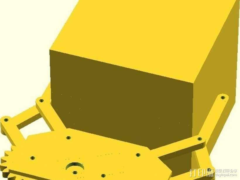 参数化机械爪 3D模型  图3