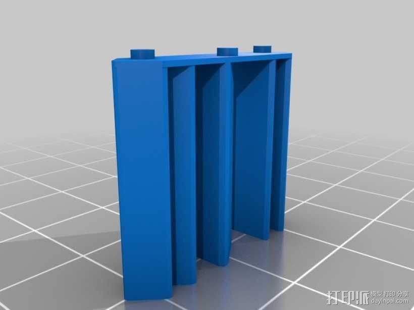 蜗牛混音带 3D模型  图3