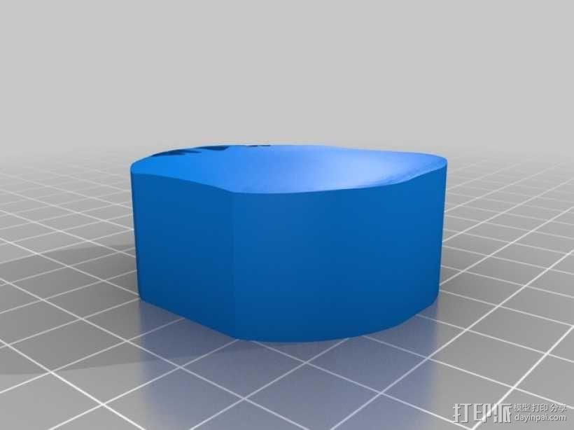 蜗牛混音带 3D模型  图2