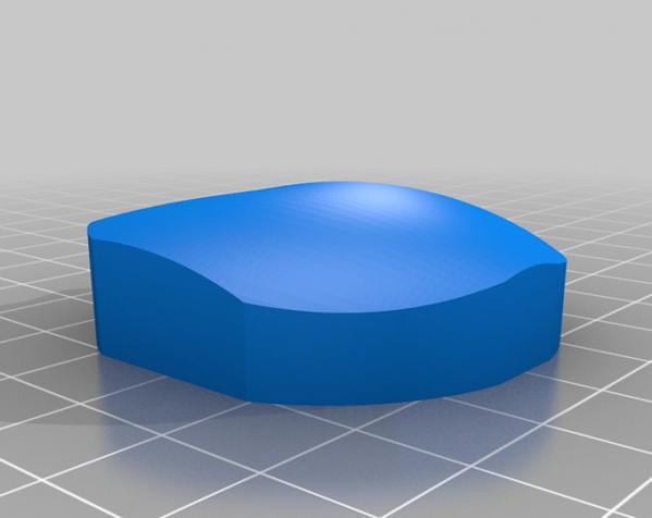 心形混音带 3D模型  图1