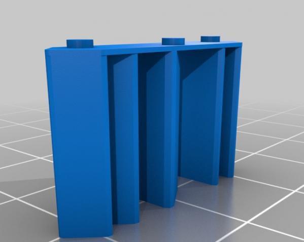 心形混音带 3D模型  图3