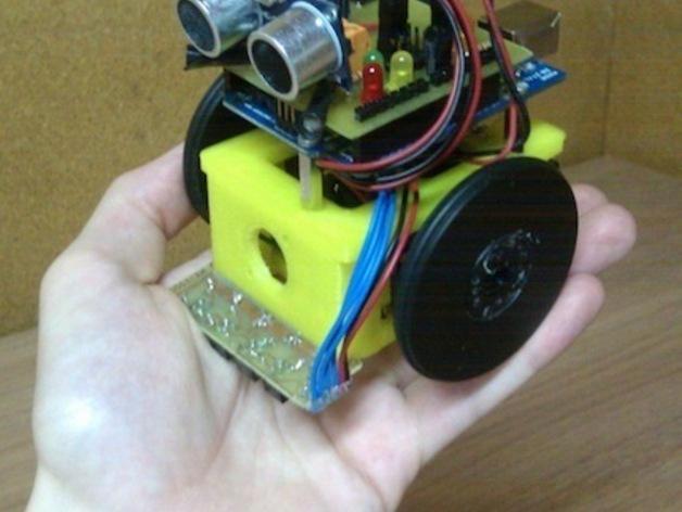 Ardu SkyBot机器人 v1.0 3D模型  图1