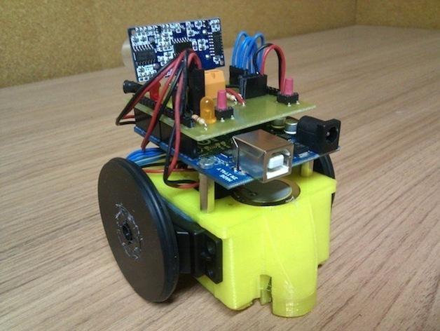 Ardu SkyBot机器人 v1.0 3D模型  图5