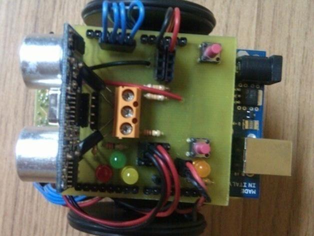 Ardu SkyBot机器人 v1.0 3D模型  图3