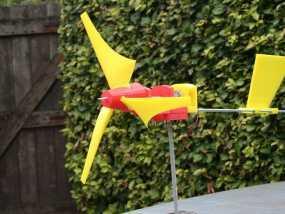 迷你直升飞机 3D模型