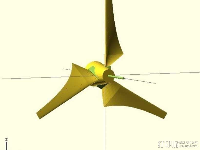 迷你直升飞机 3D模型  图6