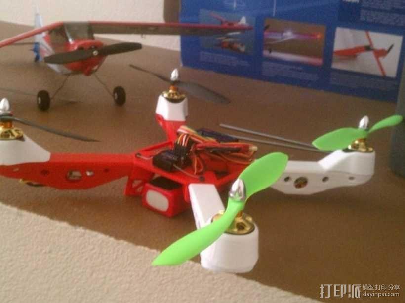 Mk3四轴飞行器 3D模型  图2
