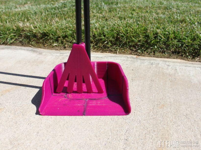 长柄粪铲 3D模型  图4
