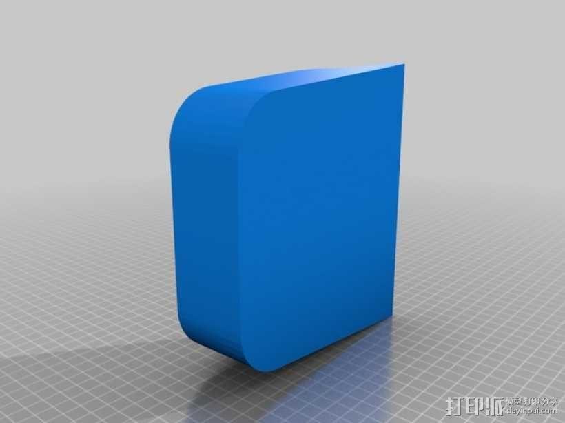 长柄粪铲 3D模型  图3