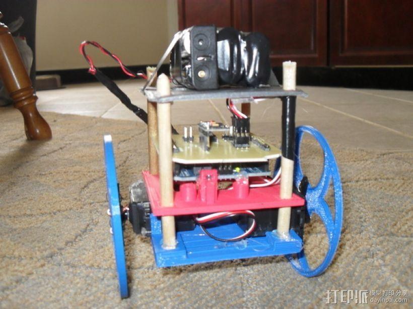 平衡机器人 3D模型  图1