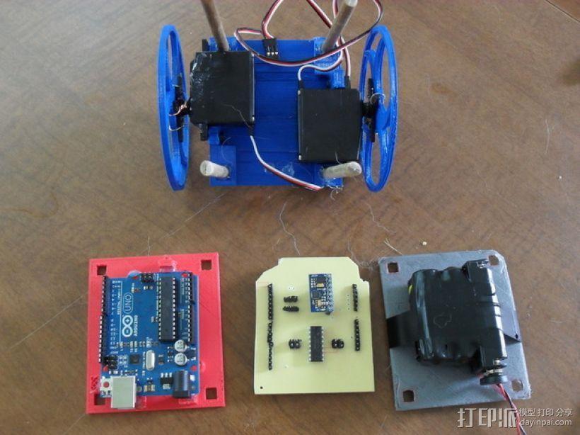 平衡机器人 3D模型  图2