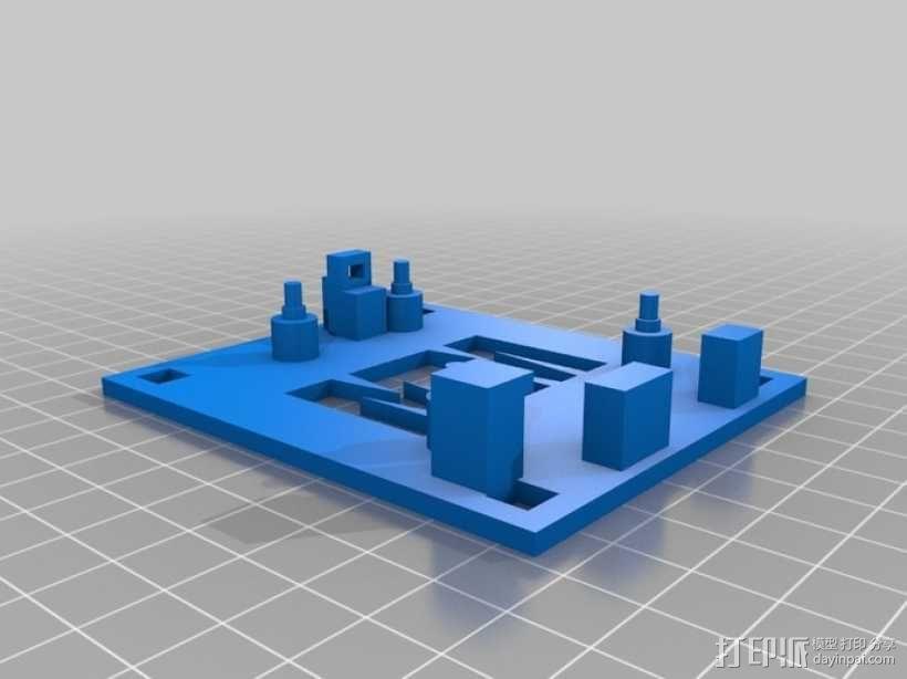 平衡机器人 3D模型  图7