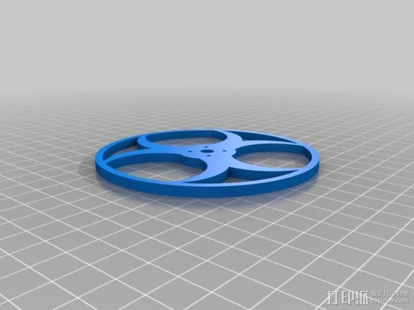 平衡机器人 3D模型  图6