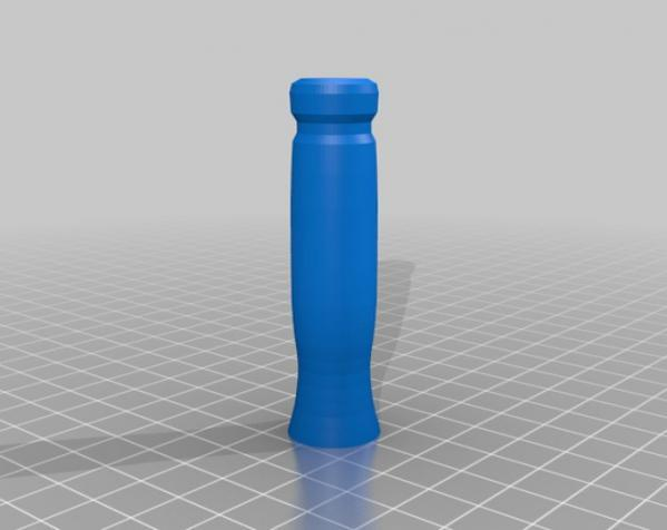 迷你哨子 3D模型  图1
