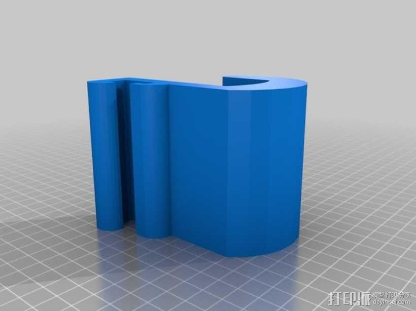 车内靠枕耳机挂钩 3D模型  图10
