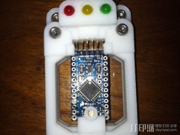 Arduino Mini Pro理线盒 3D模型  图5