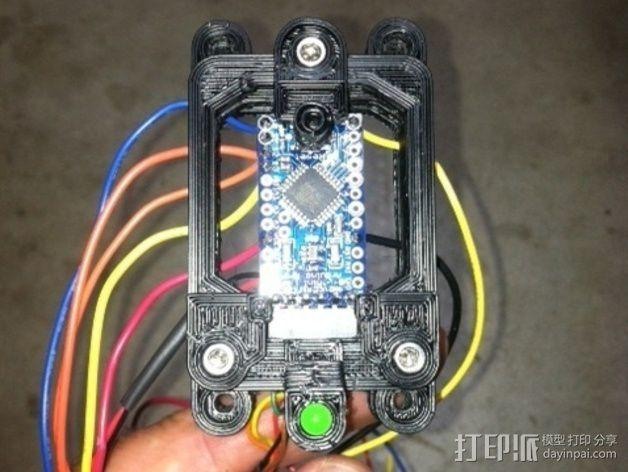 Arduino Mini Pro理线盒 3D模型  图6