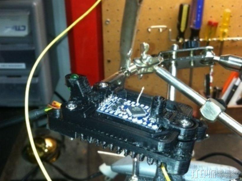 Arduino Mini Pro理线盒 3D模型  图11