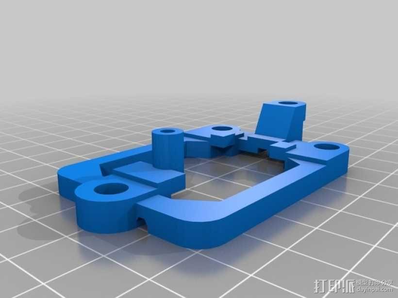 Arduino Mini Pro理线盒 3D模型  图13
