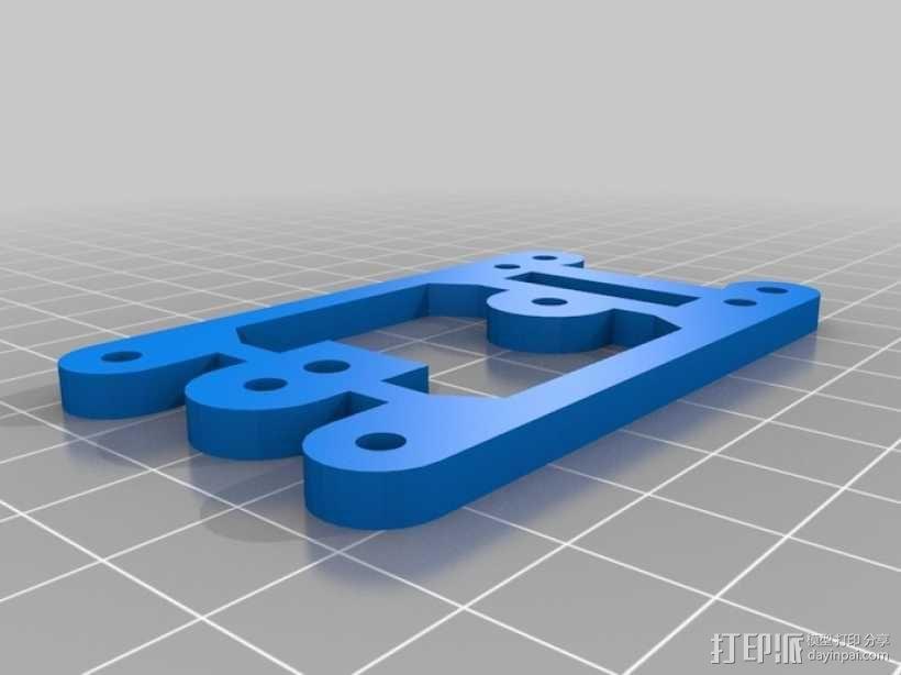 Arduino Mini Pro理线盒 3D模型  图14