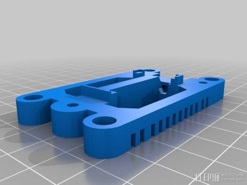 Arduino Mini Pro理线盒 3D模型  图15