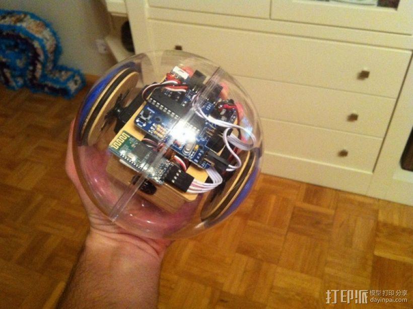 迷你SkyBOT机器人 3D模型  图4