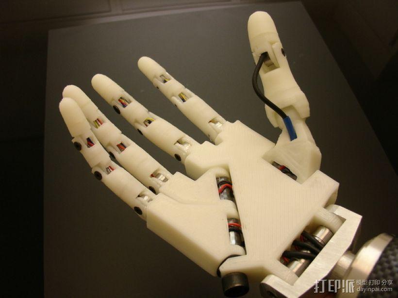 InMoov机械手 3D模型  图1