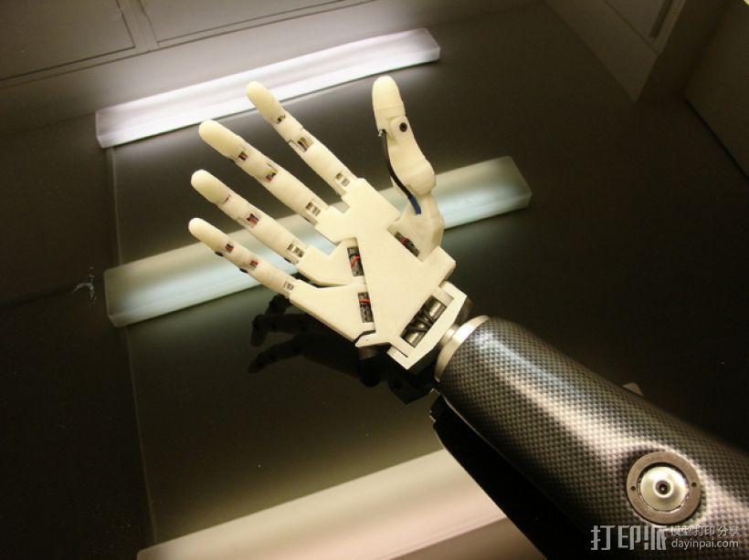InMoov机械手 3D模型  图8