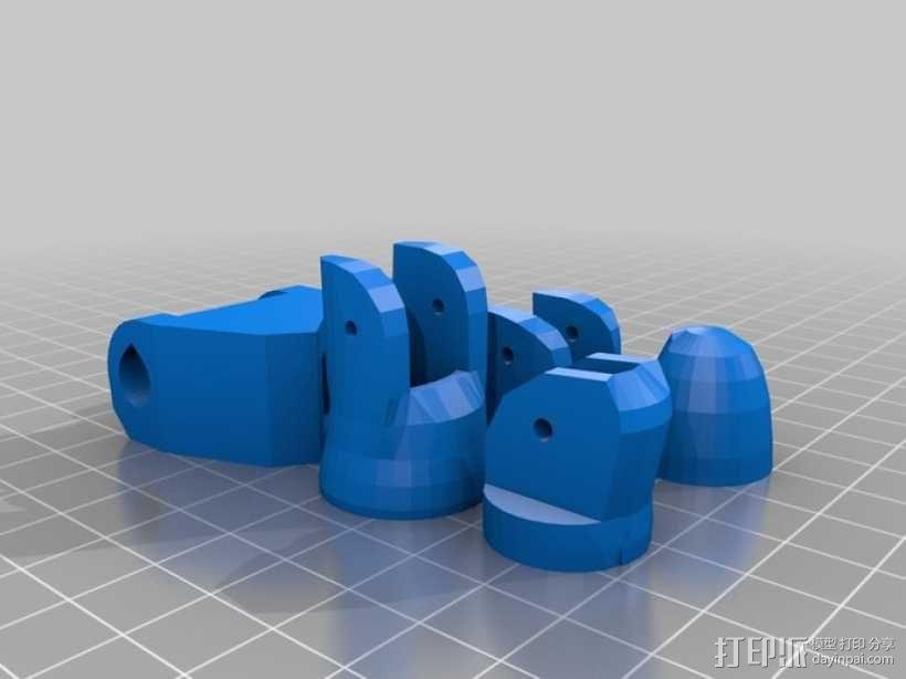 InMoov机械手 3D模型  图12